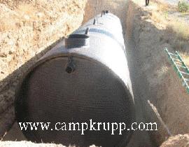 دفن سپتیک تانک