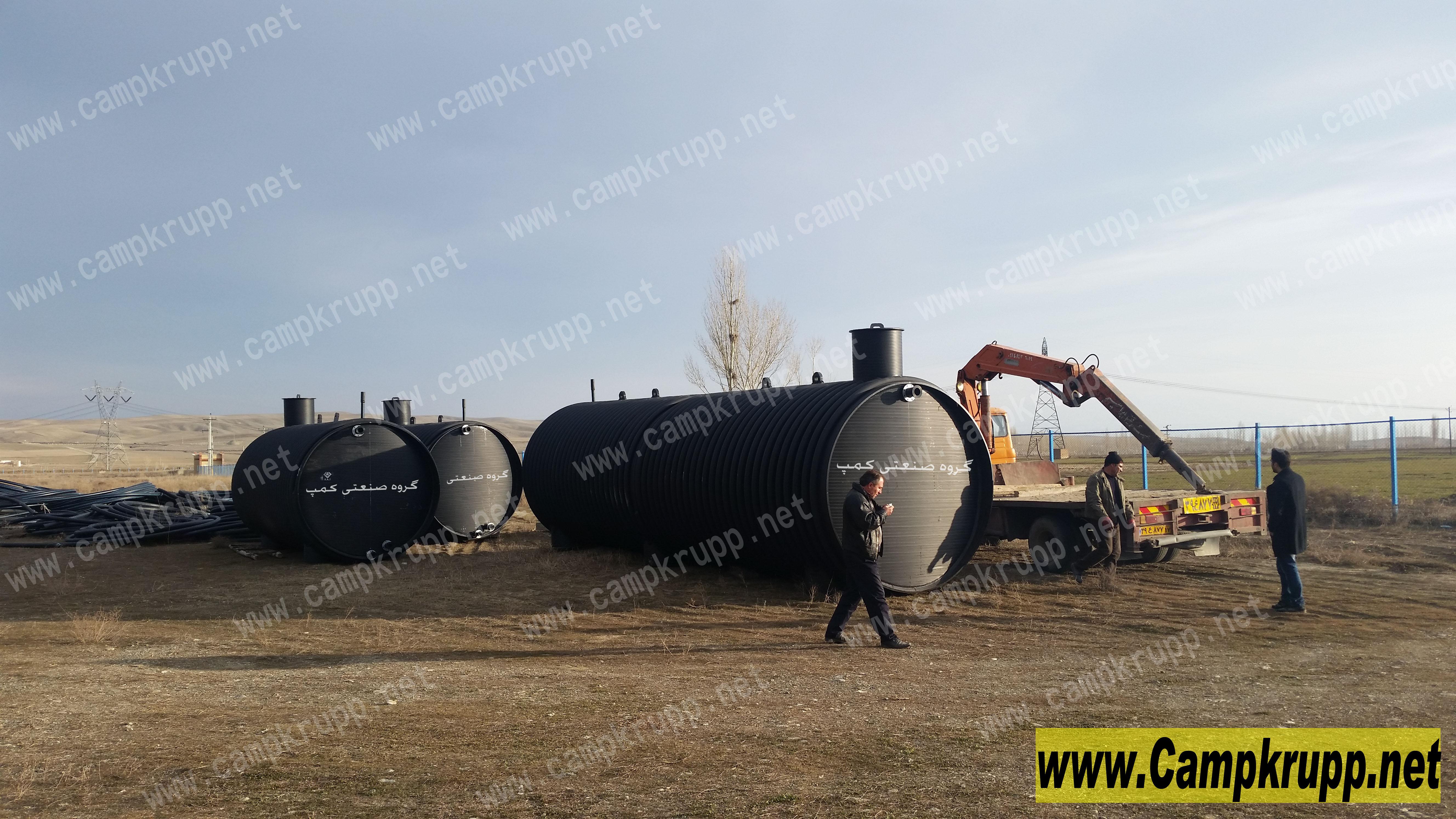 طراحی فرایند تصفیه در سپتیک تانک