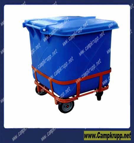 سطل زباله پلی اتیلنی