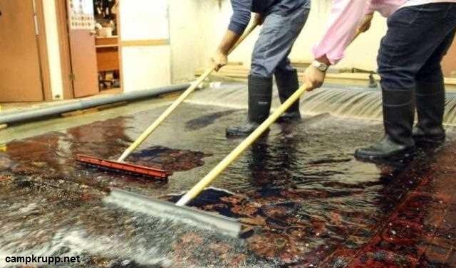 تصفیه آب قالیشویی
