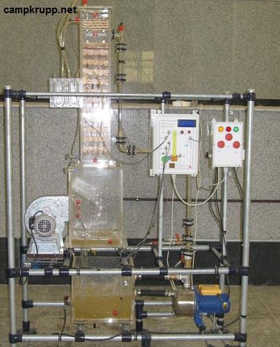 تفاوت برج خنککننده آزمایشگاهی و صنعتی