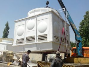 طراحی برج خنک کننده