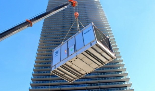 1 – تعریف برج خنک کننده گالوانیزه