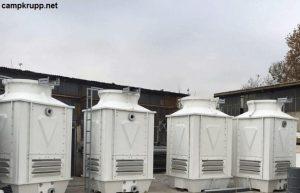 برج خنک کننده مدار بسته