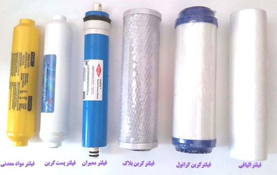 مرکز پخش فیلتر تصفیه آب