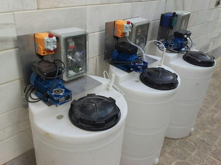 قیمت دستگاه کلرزن مایع